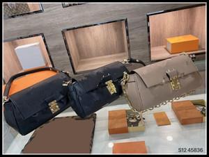 Luxurys Дизайнеры Любимые Сумки Женщины Crossbody Сумки Messenger Кожаные Сумки Сумки Плечо Телефон Кошелек M45859 Louisbag_18