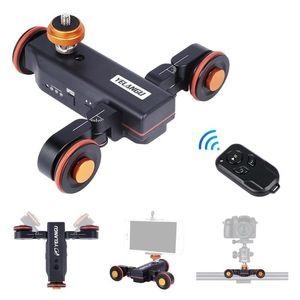 Видеокамера камеры Долли Моторизованный электрический ползунок для смартфонов Автомобильные штативы