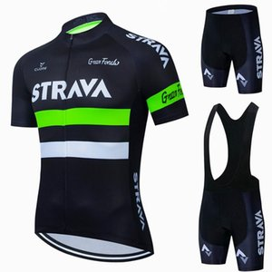 Racing Sets 2021 Weiß Strava Pro Fahrradteam Kurzarm Männer Radfahren Jersey Sommer Atmungsaktive Kleidung