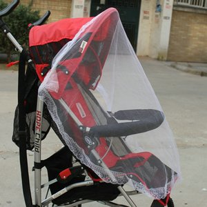 Gift of universal stroller, mosquito net and baby carriageAX0K