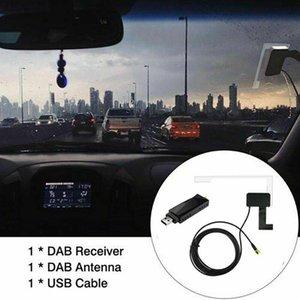 Radio Receiver In Car Antenna Digital DAB+ Adapter Aux Tuner Box Audio USB Android Decoding Radios GPS & Accessories