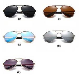 Classico Outdor Sport Occhiali da sole da uomo Donne Donne Vintage Metallo Occhiali da sole Occhiali da uomo Donna Paraschi Parasoli EyeGlasses Sport Shades 5 Colori