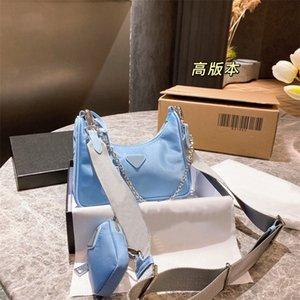 2021 Сумки на плечо Высококачественные нейлоновые сумки Мода Trend Женщины Hobo Bag Cross Body Body Pack Pack Six Color