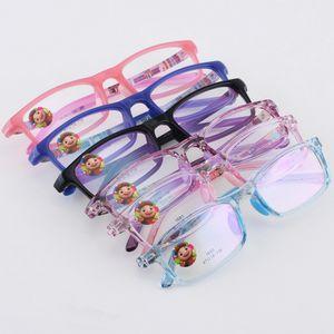 Childrens glasses Eyeglasses Lightweight Eyewear Frame Optical Kids Eye Glasses Frame For Baby Boys Girls Silicone nose care 83