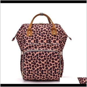 Storage Sunflower Diaper Leopard Mommy Waterproof Nappy Bag Large Capacity Travel Backpack Baby Nursing Bags Sea Wwa212 Ooeji Girbf