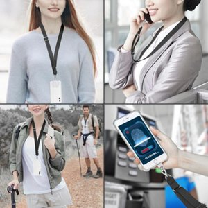 For All Phones Case Huawei Mobile Phone Lanyard Adjustable Detachable Neck Cord Strap Safety Tether Cell Straps & Charms
