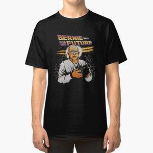 Мужские футболки Bernie для будущей футболки Sanders BTTF обратно в Республиканский