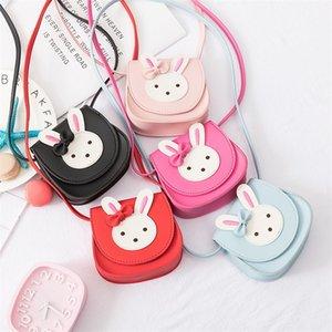 Мультфильм детская сумка мода принцесса Crossbody сумка детский сад милый кролик кролика сумка девушка сумка заводская цена 735 S2