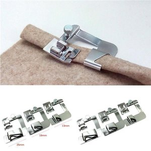 1pc Multi-functional Domestic Sewing Machine Foot Presser Hem Crimping Feet for Brother Singer Sewing Accessories 3 Sizes1