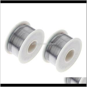 Solders Industrial Supplies Mro Office School Business & Industrial100G 60 40 Solder Rosin Core High Purity Tin Wires Electric Soldering Weld