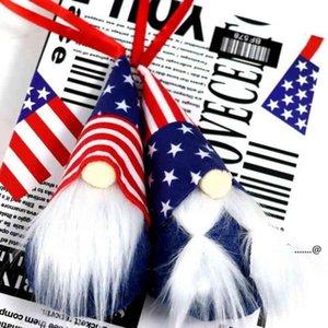 America Dia Mãe Handmade Delude Dwarf Boneca Adorável Desenhos Animados Rudolph Love You Mum Plush Dolls Party Presentes Brinquedos FWA4664