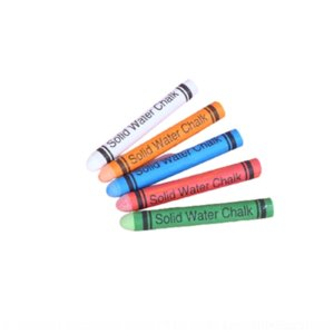 7kL color painting pens water soluble dust-free chalk office teaching white chinese and english children's painting graffiti wrapping paper