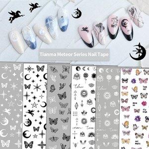 Fashion Womens Nails Stickers Decals Stylish Girl Nail Arts Sticker 71