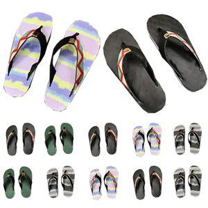 Sandálias Mulheres Slides Homens Sandal Luxurys Designers Sapatos Senhora Senhora Gentlemen Chinelos de Verão Liso Liso Liso Com Caixa 040202