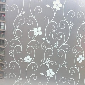 Window Sticker Privacy Protection Self Adhesive Home Decor Glass Stickers For Bathroom Living Room MJJ88