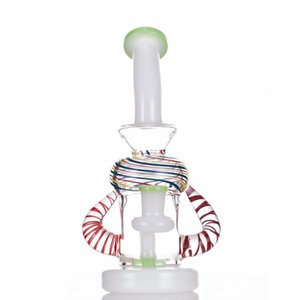 2021 Hookah Dab Rig Heady Glass Water Pipe Smoke Bong 22 CM 14.4mm Joint with Quartz Banger