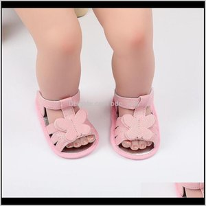Shoes Baby, Kids & Maternitysummer Baby Boys Girls Bow Breathable Anti-Slip Soft Soled Sandals Drop Delivery 2021 R0Pmo