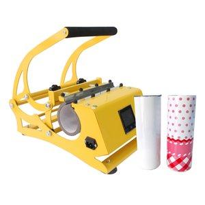 20Oz Sublimation Gerade Becher Wärmeübertragungsmaschine 500W DIY Becher Wärme Pressemaschinen 110V / 220V