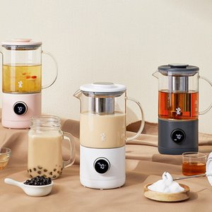6 en 1 Cafetière électrique Portable Lait Tea Machine de thé Marron Frother Tea Tea Maker Santé Préservation Pot Diy Tea Milk 500ml
