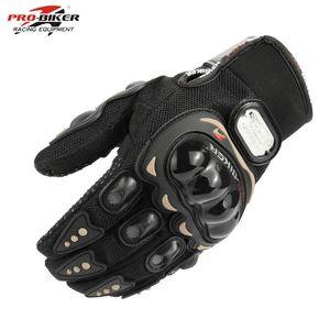 Outdoor sport pro biker motorrad handschuhe volle finger moto motorrad motocross schützentzahl guantes rennhandschuh