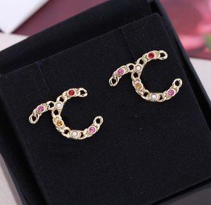 2021 패션 디자인 여성을위한 빨간색 다이아몬드와 간단한 스타일 웨딩 약혼 쥬얼리 선물 상자 스탬프 스탬프 PS4672