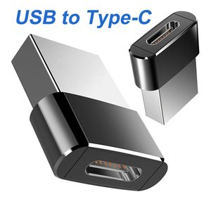 Telefono cellulare C-Type Femmina a USB 2.0 A Adattatore convertitore OTG maschile