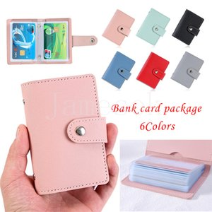 Fashion Unisex Business Cards Holder Women Credit Card Case ID Bag For Men Clutch Organizer Wallet With Driver's License Slots DB698