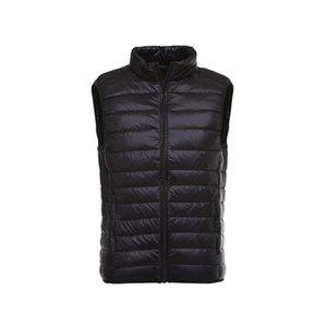 Men's Vests 2021 Down Jacket Vest Spring, Autumn And Winter Portable Lightweight Thin Mens Men Clothing