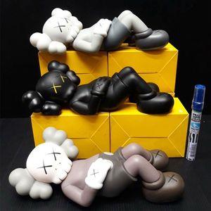 Best-selling 28CM 0.8KG Originalfake Kaws Companion Half lying style for Original Box Action Figure model decorations toys gift