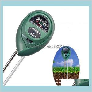 Ph Meters Analyzers Measurement & Analysis Instruments Office School Business Industrial 3 In 1 Digital Meter Plants Flowers Soil Wate