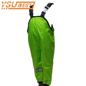 Kids Overall Children Waterproof Rain Pants Waterproof Overalls Pants 1-7Yrs Baby Boys Girls Overalls