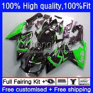 Injection Fairings For Aprilia RS-125 RS4 RSV 125 RS 125 RR 125RR RSV-125 8No.28 RSV125 Green black RS125 R 06 07 08 09 10 11 RSV125RR 2006 2007 2008 2009 2010 2011 OEM Body