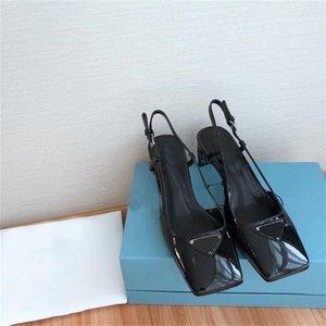 Erste Klasse Real für Frauen! Mode Damen Designer Flachkopf Hochzeitskleid formale Schuhe mit echtem Leder Sohle bei B