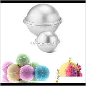 Pastry Tools Bakeware Kitchen Dining Bar Home Garden Drop Delivery 2021 Aluminium Alloy Cake Mould Bath Bomb Baking Moulds Roast Ball Diy Des