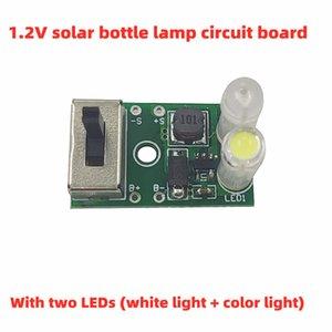 جرة الشمسية ضوء تحكم 1.2 فولت الشمسية السيراميك ضوء تحكم لوحة الدوائر الشمسية زجاجة ضوء لوحة التحكم