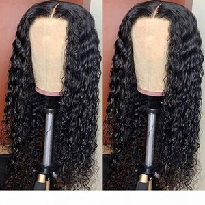 Aircabin Water Wave 30 Inch 13x6 Type T HD Transparent Lace Wigs Glueless Brazilian Remy Human Hair Wigs For Women 150% Density