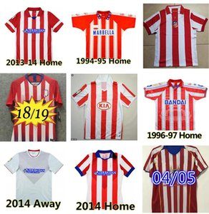 Retro 2003 2004 2005 مئوية مئوية Atletico Soccer Jerseys 1994 1995 1996 1996 1997 10 11 13 14 15 15 Torres Simeone Kiko Caminero Futbol Football Shirt الكلاسيكية Mailleots Madrid