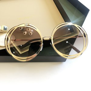 2020 Flower Round Women Sunglasses Big Frame European And American Fashion Glasses Slimming Trend Sunglass