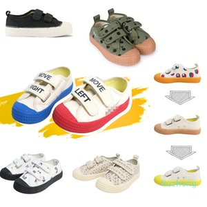 Casual Girls Boys Canvas Shoes Novesta Brand Printed Fashion Children Shoes Non-slip 2020 Spring Kids Sneakers Shoes