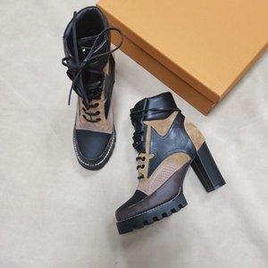 Lady Boots Rivet Socks Boot Boot Bottom Tacco alto Caviglia Scarpins Schermed moda Brand Designer Donne