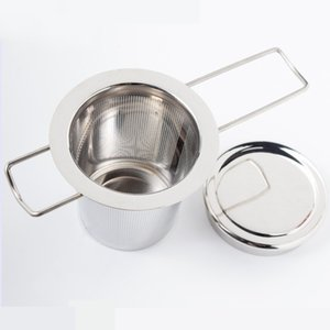 Reusable Stainless Steel Tea Strainer Infuser Filter Basket Folding Tea Infuser Basket Tea Strainer For Teapot CCA9198 50pcs GWE5814