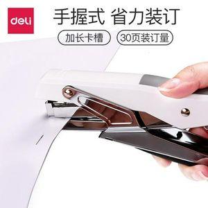 Hand held stapler 0329 labor saving stapler 0012 stapler can order 20 pages of office stationery