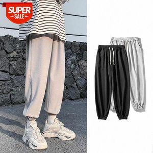 Streetwear Sweatpants Casual Pants men New Fashion Harem Ankle-length Mens Joggers Sportwear Trousers #cF99
