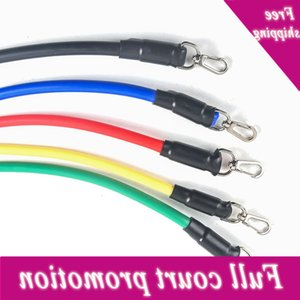 11 Sets From Five Colors Fitness Elastic Touch Strength Training Set Resistance Band Yoga Buizen Pull Touw