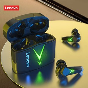 Lenovo LP6 TWS Gaming Earphone New Wireless Buletooth Headphone With Noise Reduction Dual Mode Headset For E-Sports Games Music
