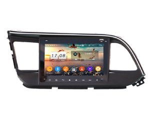 "4gb+128gb 1 DIN 8"" PX6 Android 10 Car DVD Player for Hyundai Elantra 2019 2020 DSP Radio GPS Navigation Bluetooth 5.0 WIFI Car Multimedia Head Unit"