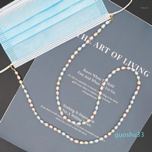 Fashion Natural Pearls Face Mask Lanyard Strap Safety Mask Rest Pearls Beaded Sunglasses Holder Cords Eyewear Retainer1