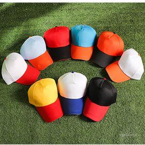Men and Women Color Advertising Baseball Cap Volunteer Tourism Group Duck Hats Summer Sun Caps Party Hat T500562