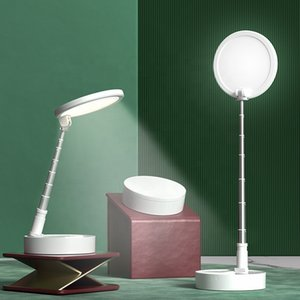 White rechargeable reading room modern extended overlap office desk lamp bedroom touch