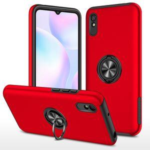 360 Оценить кольцевые доспехи Combo Case для Xiaomi Redmi ПРИМЕЧАНИЕ 9 PRO 9S 9A 9C 10 LITE MI 10T 11 K40 Ударозащитный чехол